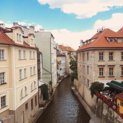 Canals of Prague.